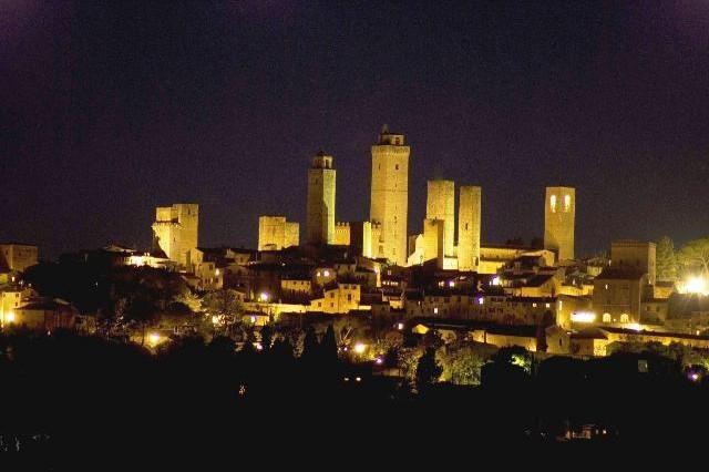 Motopanorami notturni Toscani